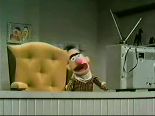 Classic Sesame Street - Ernie and Bert's TV chair showdown