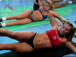 Great sexy aerobic lessons
